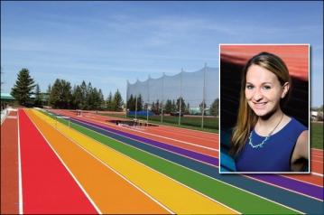 nike summit rainbow track by brett hoover
